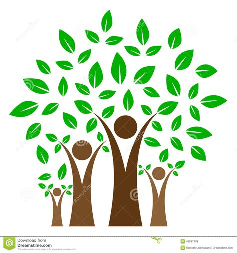 Family Tree Stock Vector Illustration Of Ecology Concord 46897498 Royalty Free Family Tree Clip Vector Images Illustrations Istock