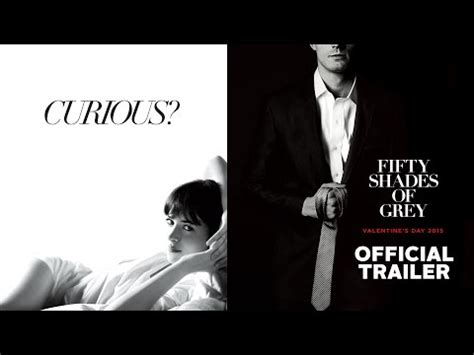 50 shades of grey movie trailer youtube fifty shades of grey watch first official trailer