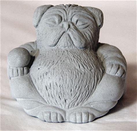 pug buddha tyber katz pug lover gifts zen mini pug buddhas