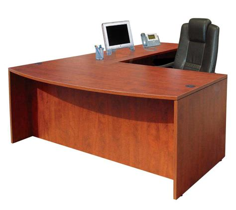 cherry l shaped desk los angeles desks reviews