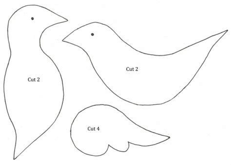 dove templates free best photos of dove craft template paper dove ornament