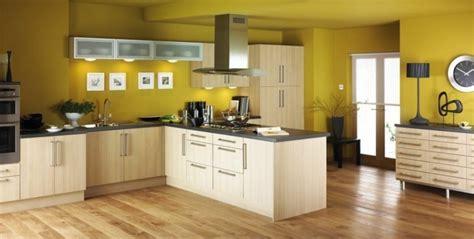 couleur mur cuisine bois couleur peinture cuisine 66 id 233 es fantastiques