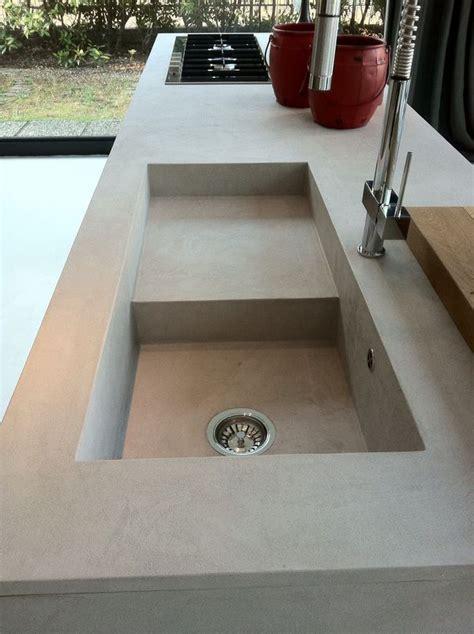 tarja de cemento cocina perdurable fregaderos de