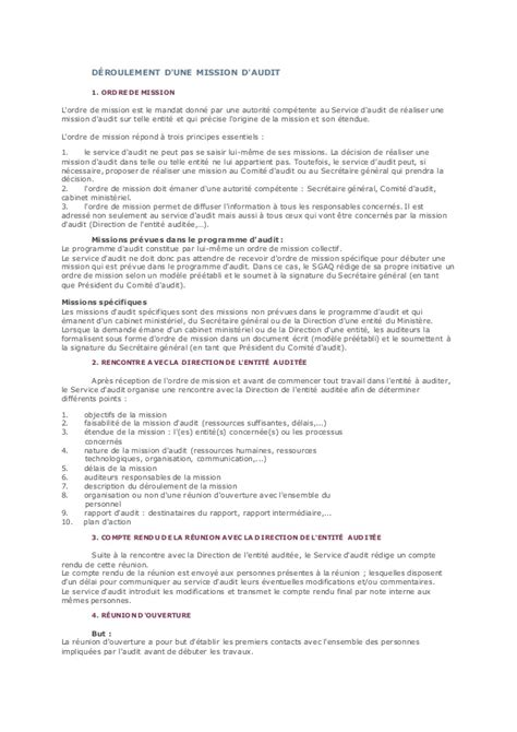 Lettre De Mission Visa Exemple Ordre De Mission Travail Document