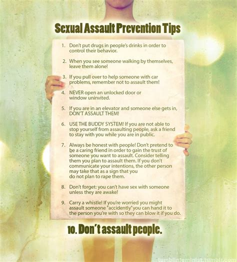 10 Tips To The With Someone New by Sexual Assault Prevention Tips Pictures Quotes