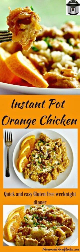 instant pot gluten free 40 healthy easy delicious nutritious gluten free recipes instant pot cookbooks volume 4 books best 25 orange sauce for chicken ideas on