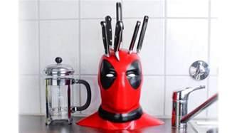 Gift Ideas Kitchen deadpool knife block bogazici77