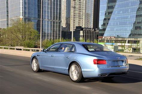 bentley flying spur rear 2014 bentley flying spur rear three quarters in motion
