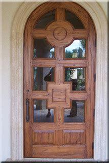 Custom Height Exterior Door Custom Arched Solid Distressed Wood Entry Door 8 Height Tropical Front Doors Other Metro