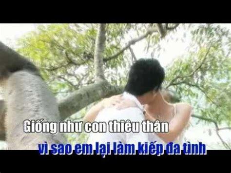 karaoke cam bay tinh yeu cam bay tinh yeu phan dinh tung v34 youtube