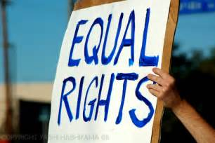 The fight for equal rights for women butik work