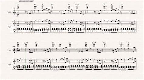 Collection of Ukulele Hey Brother Avicii Sheet Music Chords | Hey ...