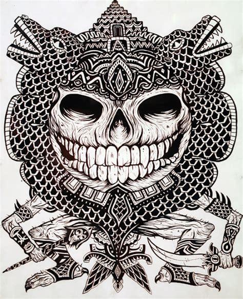 tattoo nativo maori aztec canibal tattoo maori