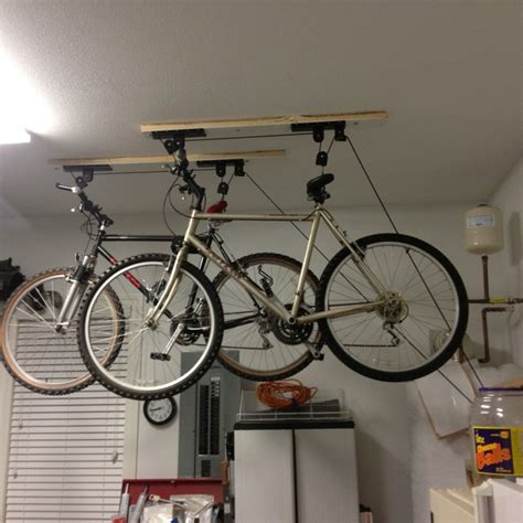 Bike Rack Pulley System by 1000 Images About Bike Storage On Green Roofs