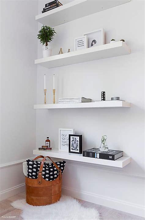Rak Buku Dinding Tempel Minimalis 14 desain rak dinding minimalis kayu unik dan modern