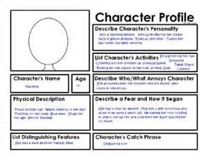 creating a description template 262 best images about characterization on