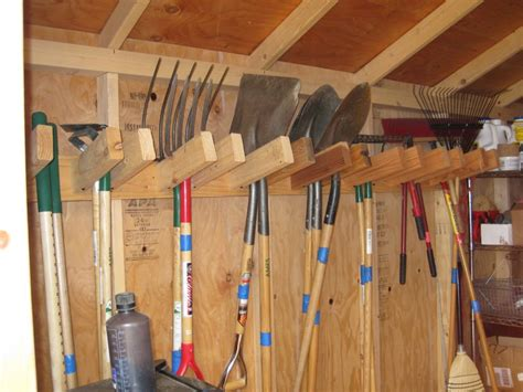 24 Creative Garden Tool Storage Ideas Round Decor Garden Tool Storage Ideas
