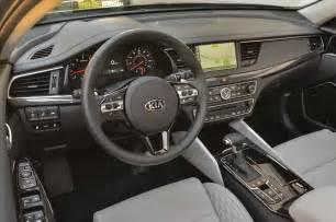 Kia K7 Interior Drive 2017 Kia Cadenza Limited Automobile Magazine