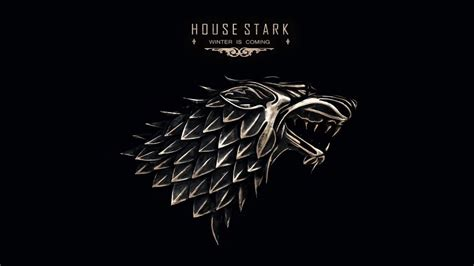 house stark themes game of thrones house stark theme seasons 1 6 youtube