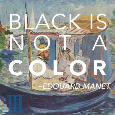 black is not a color black is not a color by edouard manet like success