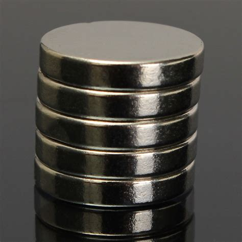 Mocilen Magnet 15 Mm 5pcs n50 15mm x 3mm strong cylinder magnets