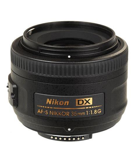 nikon 35mm nikon 35 mm f 1 8 g af s dx lens dx format price in