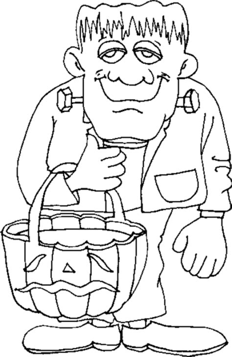 halloween coloring pages monsters image gallery halloween monster coloring pages