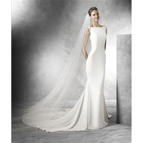 Wedding Dresses by Pronovias 2016 Collection Tatiana Wedding Dress