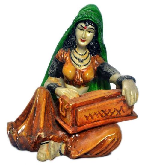 earth home decor rajasthani folk musician best price in