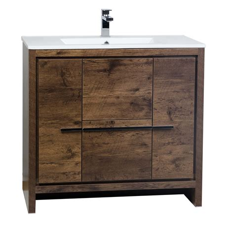 36 Modern Bathroom Vanity Buy Cbi Enna 36 Inch Rosewood Modern Bathroom Vanity Tn La900 Rw On Concepbaths