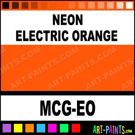 neon electric orange glitter sparkle shimmer metallic pearlescent iridescent paints