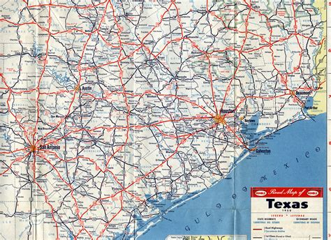 texas detailed map highway maps of texas