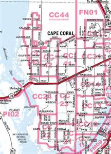cape coral florida zip code map new page 1 www qprop net
