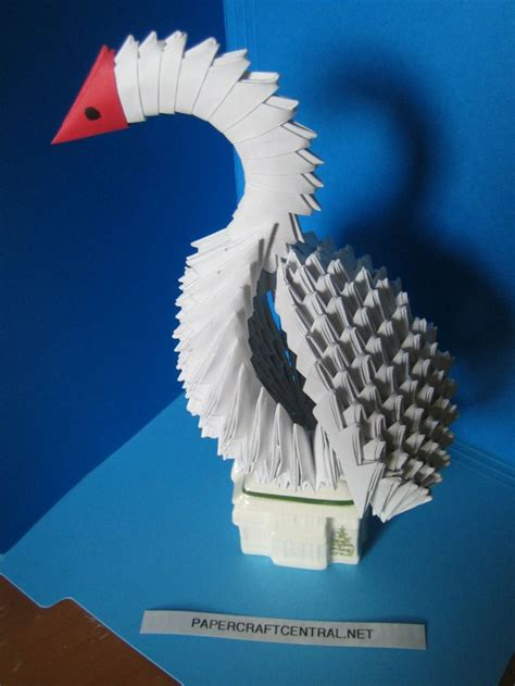 Origami Bird 3d - 417 best images about 3d origami on