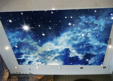 large night sky stars wall paper wall print decal wall