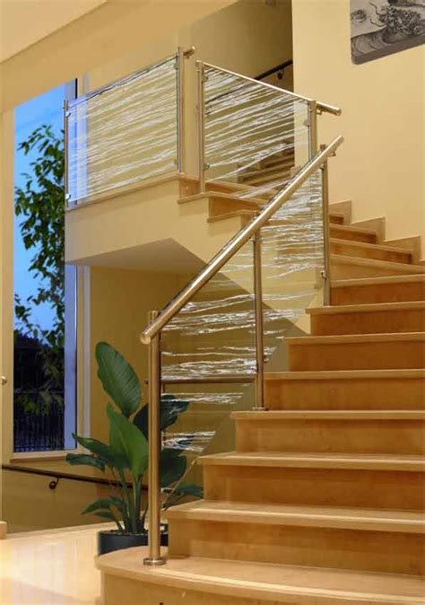 frosted glass balustrade panels clearlight designs