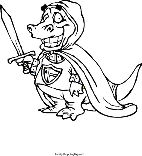 dragon family coloring page dragon with sword 250649 gif
