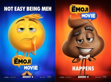 emoji film posters the emoji movie trailer del film con protagoniste le