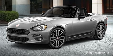 2019 Fiat Spider by New 2019 Fiat 124 Spider Urbana Debuts At New York Auto