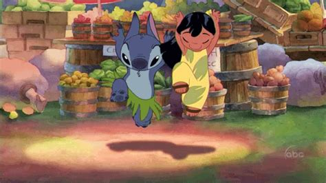 lilo and stitch hug gif find share on giphy dancing stitch gifs find share on giphy
