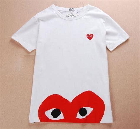 Tshirt Random Play Cdg comme des garcons cdg play mens womens sleeve t shirt