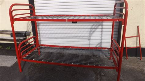 Red Tubular Bunk Bed For Sale In Kill Kildare From Jffy50 Tubular Bunk Bed