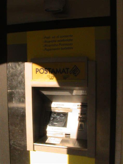ufficio postale recanati carte clonate al bancomat delle poste l assessore