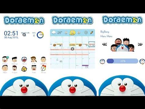 Themes Hp Android Doraemon   tema doraemon untuk semua hp android youtube