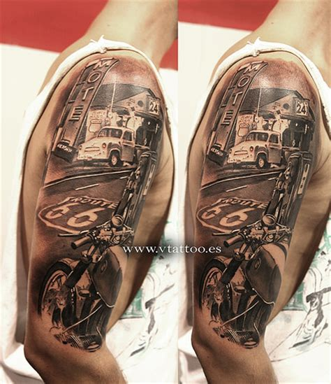 route 66 tattoo tatuaje ruta 66 miguel bohigues flickr
