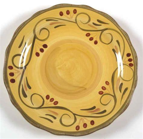 home trends italian villa dinner plate 6578967 ebay