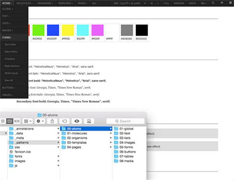 pattern lab workflow an in depth overview of living style guide tools