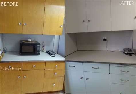 before and after kitchen cabinets kitchen makeover puddy s house