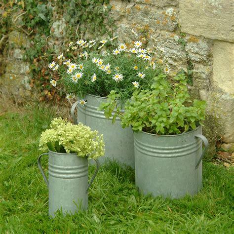 buy planters buy garden trading set of 3 planters amara
