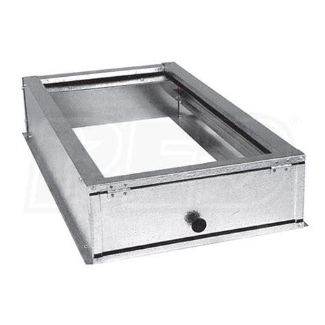 goodman dphfra external horizontal filter rack 16 inch x